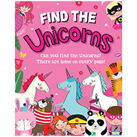 Find the Unicorns Activity Book Pack of 12 27075-UNIC