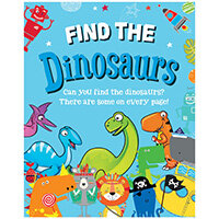Find the Dinosaurs Activity Book Pack of 12 27072-DINO