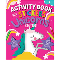 Unicorn Activity Book with Stickers Pack of 12 26079-UNIC