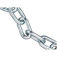 Faithfull 80kg Load Zinc Plated Chain 3.0mm