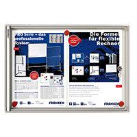 Franken Flat Display Cases ValueLine Magnetic Metal 2 x A4 FSA2