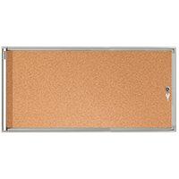 Franken Flat Board Display Case ValueLine Cork 3 x A4 FSKA3