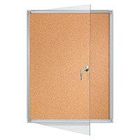 Franken Flat Board Display Cases ValueLine Cork 4 x A4 FSKA4