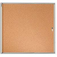 Franken Flat Board Display Case ValueLine Cork 8 x A4 FSKA8