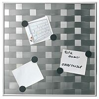Franken Memo Board Matrix 475mm x 475mm Silver