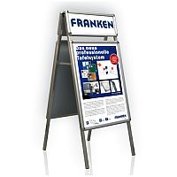 Franken A-board For Display A1 Posters H151 x W64 x D74.5cm