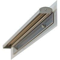 Franken Quick-Change Flipchart Pad Holder Magnetic Silver