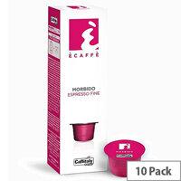 Morbido Ecaffe Caffitaly Coffee Pods Sleeve of 10 Capsules