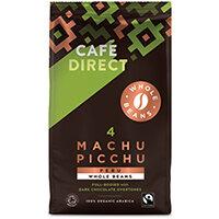 Cafedirect Machu Picchu Whole Coffee Beans 750g FCR0048