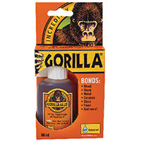 Gorilla 100% Waterproof Glue 60ml 1044202