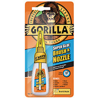 Gorilla Super Glue Brush and Nozzle 12g 4044501