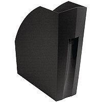 Magazine Rack A4+ Black Exacompta Forever 180014D