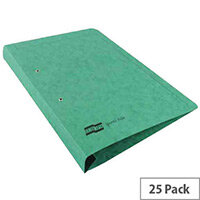 Europa Green Spiral File A4 Pack of 25