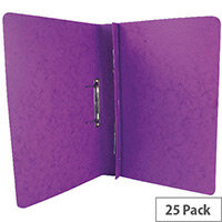 Europa Lilac Spiral File A4 Pack of 25