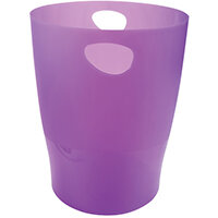 Iderama Waste Bin Purple 45319D