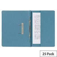 Guildhall Pocket Spiral File Blue 347-Bluz Pk25