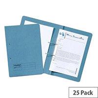 Guildhall Transfer Spiral Pocket R/H Blue Pack of 25 211/9060Z