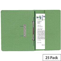 Guildhall Transfer Spiral Pocket R/H Green Pack of 25 211/9062Z