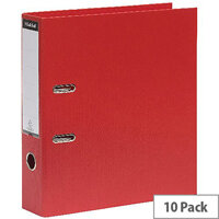 Guildhall Lever Arch A4 File 70mm Red Pack of 10 222/2002Z