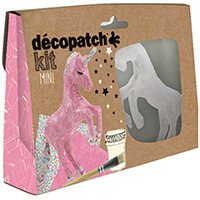Decopatch Mini Kit Unicorn Pack of 5 KIT009O