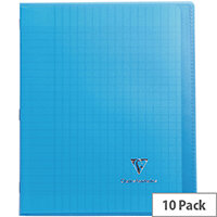 Clairefontaine A4 Koverbook Assorted Pack of 10 971501C