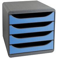 Iderama Big Box 4 Drawer Set Blue 310779D