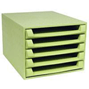 Forever 5-Drawers Set Green 221102D
