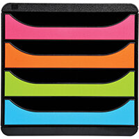Iderama Big Box 4 Drawer Set Harlequin 310498D
