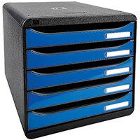 Iderama Big Box Plus 5 Drawer Set Blue 3097279D