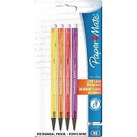 PaperMate Neon Assorted Non-Stop Automatic Pencils 0.7mm 12 Blister Packs of 4 Pencils 1906122