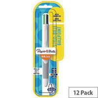 Paper Mate 4 Colour InkJoy Quatro Pen Blister Pack of 12