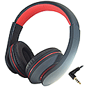 Black HP531 Mobile Headphones with Built-in Mic and Remote 24-1531