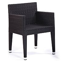 Sorrento Black Weave Outdoor Box Chair
