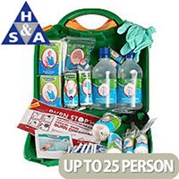 Astroplast Green Box HSA First Aid Kit 11-25 Person