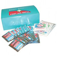Burns Gel & Burns Lint Pads First Aid Kit Refill  1009006