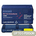 Holthaus First Aid Travel Kit 3-in-1 Combi DIN 13164 1062220