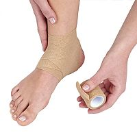 Cohesive Bandage 10cm x 4.5m Pack of 1 Tan 1805003
