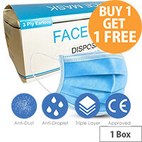 Surgical Mask Pack of 50 4814001