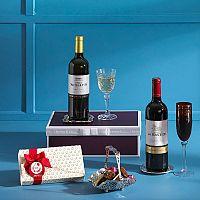 Wine & Chocolate Gift Box