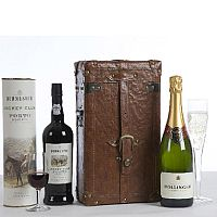 Champagne & Port Duo Gift