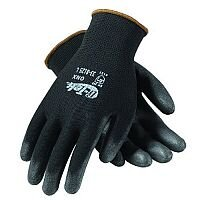 Shield Pu Coated Nylon Black Gloves Size 9 M/L-Men or XXL-Women Pack 1