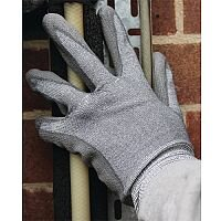 Shield Industrial Polyurethane Coated Nylon Gloves Cut Resistant Level 3 Size 9 GI/DC3SZ9