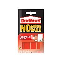 Unibond No More Nails Permanent Strip Ultra Strong 2.75kg Translucent 10 Strips