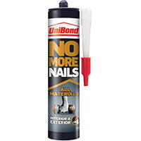 No More Nails Interior/Exterior Grab Adhesive Cartridge 390g 2492850