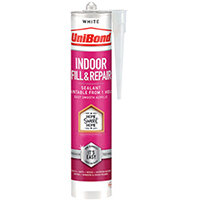 UniBond Indoor Fill and Repair Cartridge White 280ml 2646328