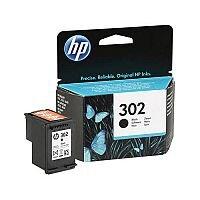 HP 302 Black Ink Cartridge F6U66AE