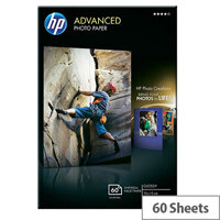 HP 10x15cm Advanced Glossy Photo Paper 250gsm (Pack 60)