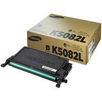 Samsung CLT-K5082L Black High Yield Toner Cartridge SU188A