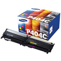 Samsung CLT-P404C CMYK Standard Yield Toner Cartridges Pack of 4 SU364A