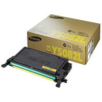 Samsung CLT-Y5082L Yellow High Yield Toner Cartridge SU532A